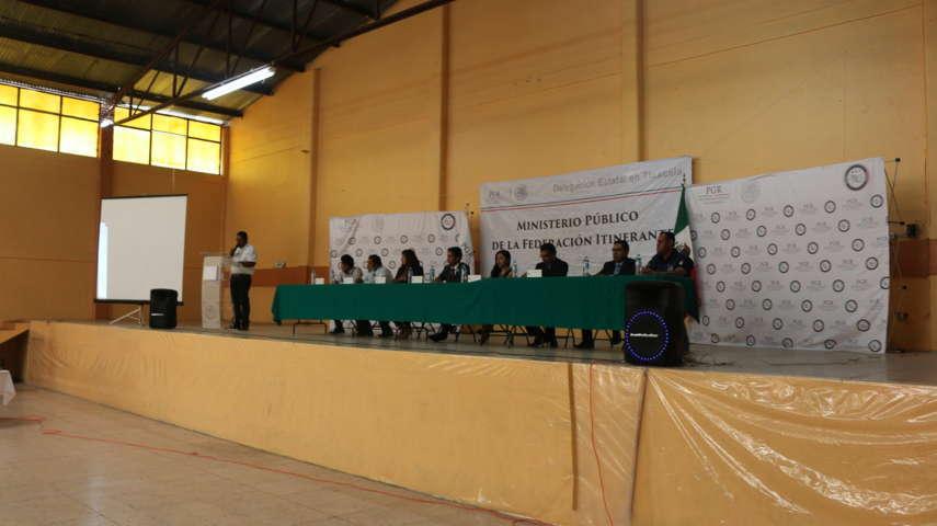 Realizan ´Agente del Ministerio Público de la Federación Itinerante´ en Santa Cruz