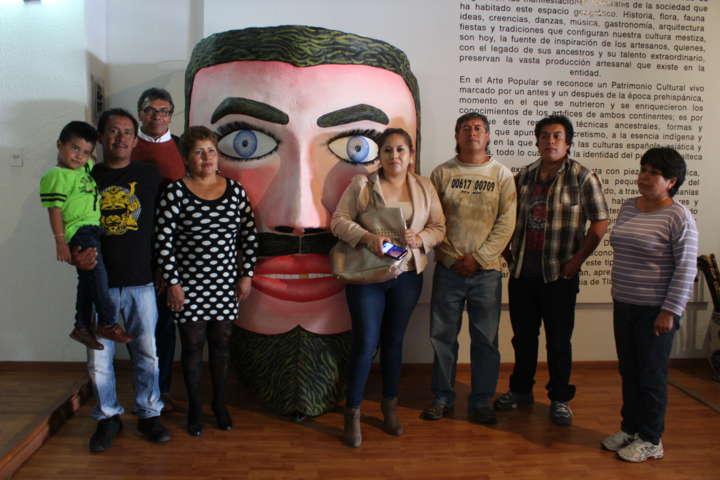 Hace acto de presencia Tetla en el XXX Aniversario del Día del Artesano
