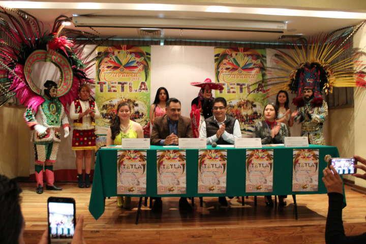 Tetla de la Solidaridad presenta Cartel de Carnaval