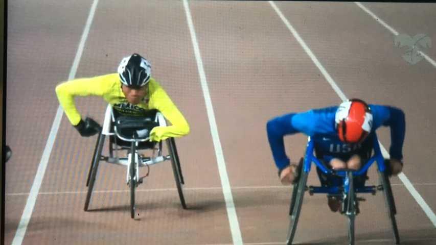 Cuarto lugar para Leonardo de Jesús Pérez, ahora en los 100 metros