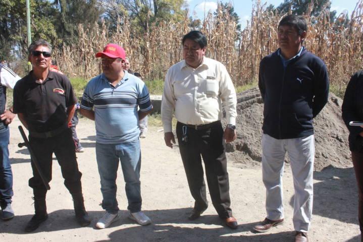 Alcalde Inicia los trabajos del colector pluvial en Yoalcoatl