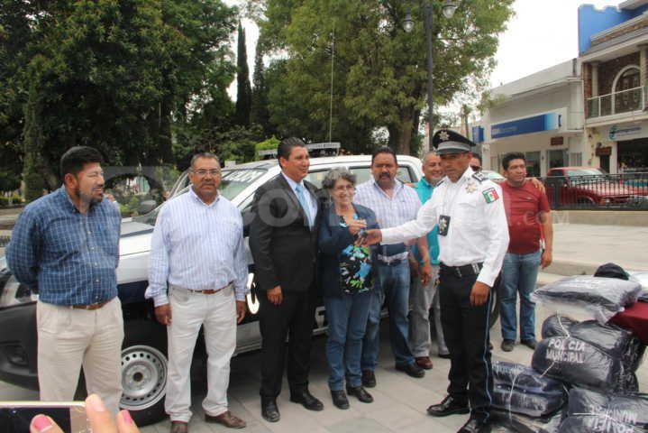 Trabajamos para fortalecer la seguridad en beneficio de los pobladores: alcalde