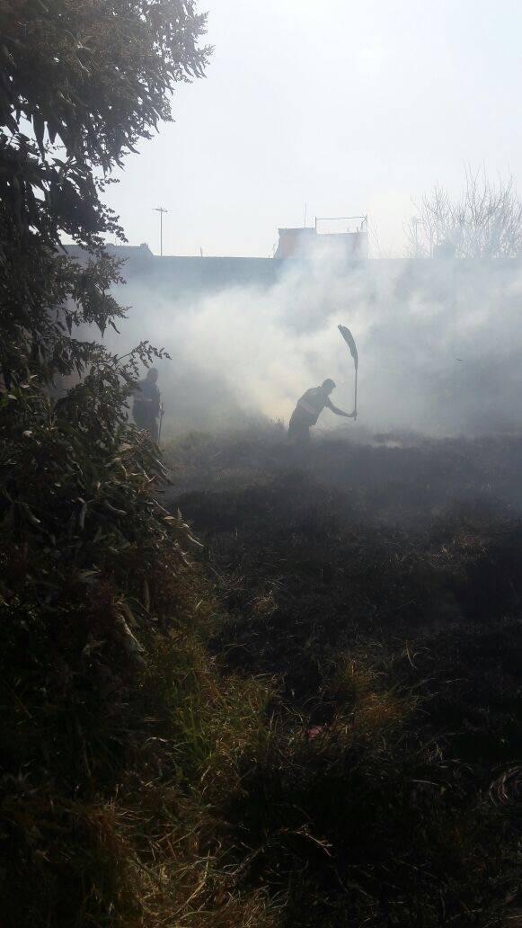 Protección Civil de Chiautempan sofoca incendio en casa habitación de Col. Centro