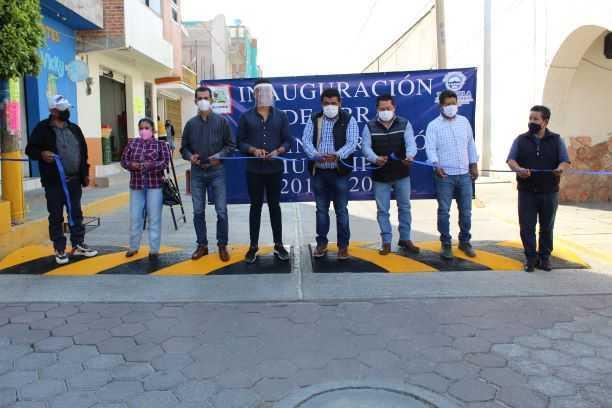 Inicia alcalde Tepetitla de Lardizábal inauguración de obras en el municipio