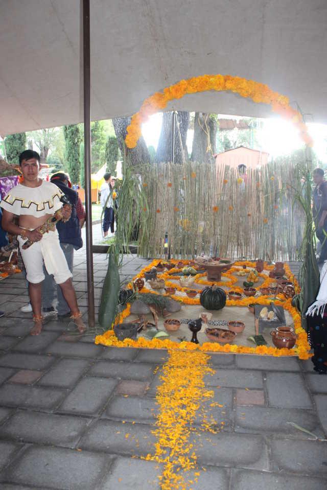 Con éxito se realizó el Festival El Mitotl De La Catrina en  Santa Cruz Tlaxcala