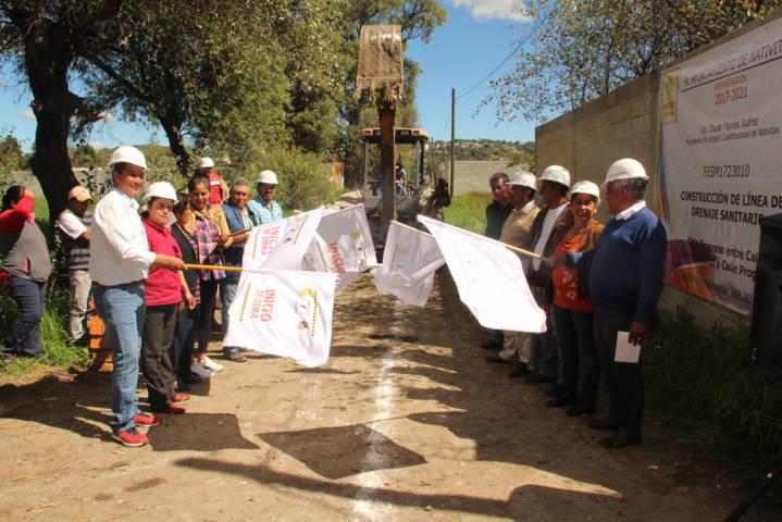 En Michac estamos abatiendo el rezago en infraestructura básica: alcalde