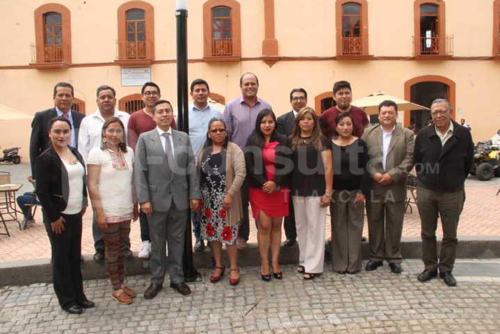 Somos administración que trabajamos sin corrupción: Sanabria Chávez