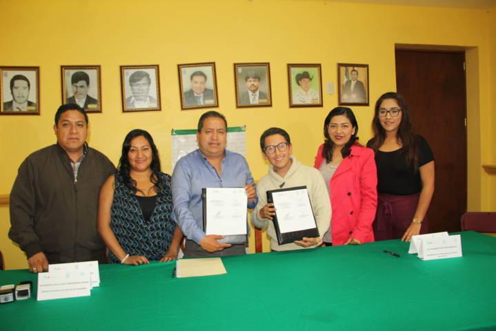 Ayuntamiento de Amaxac e Icatlax Sepuede signan convenio de colaboración