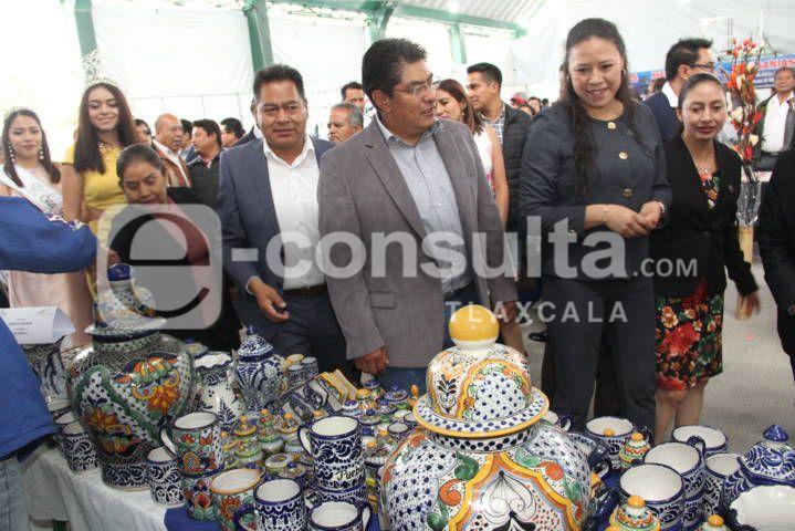 """Cano Coyotl puso en marcha la """"Feria San Pablo del Monte 2019"""""""