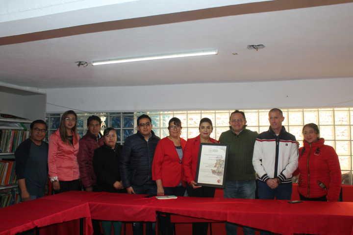 CEDH entrega distintivo al Ayuntamiento De Emiliano Zapata