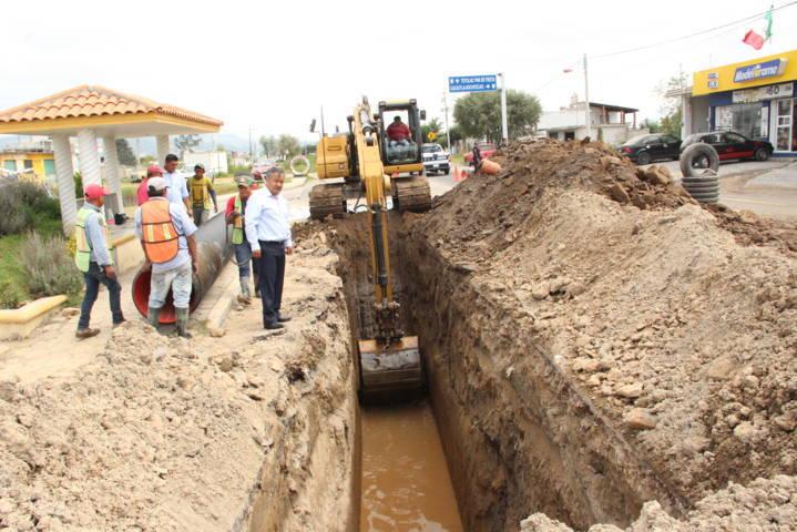 Este colector de 8 km evitara las descargas de 7 comunas en el rio Atoyac: alcalde