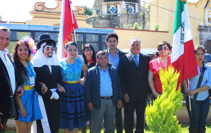 Inauguran en Huamantla rehabilitación de la Plazuela de Jesús