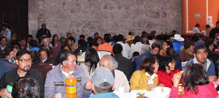 Encabeza Alejandro Aguilar López convivio de fin de año con personal del Ayuntamiento de Huamantla