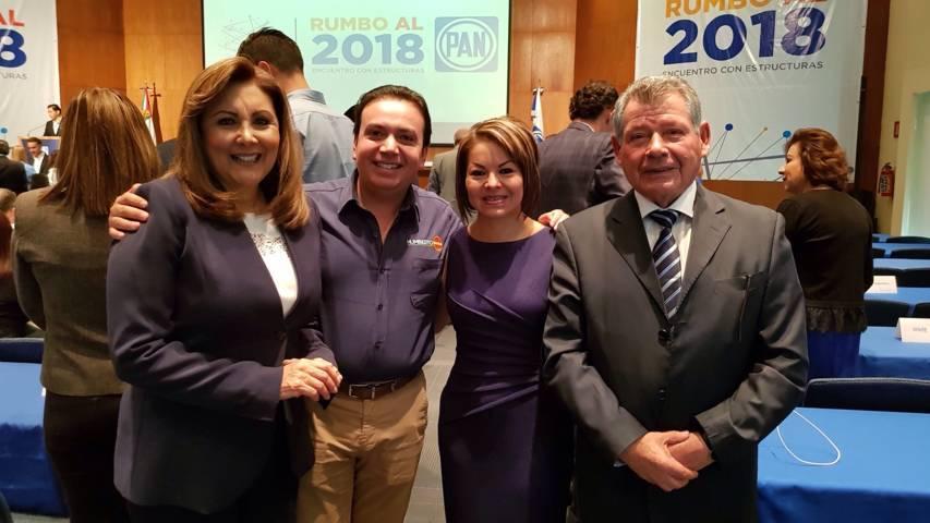 Anaya se reúne con ex presidentes chilenos, Ricardo Lagos y Eduardo Frei