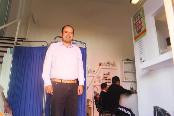Más de cuatro mil consultas gratuitas ha otorgado el dispensario de Santa Cruz Tlaxcala