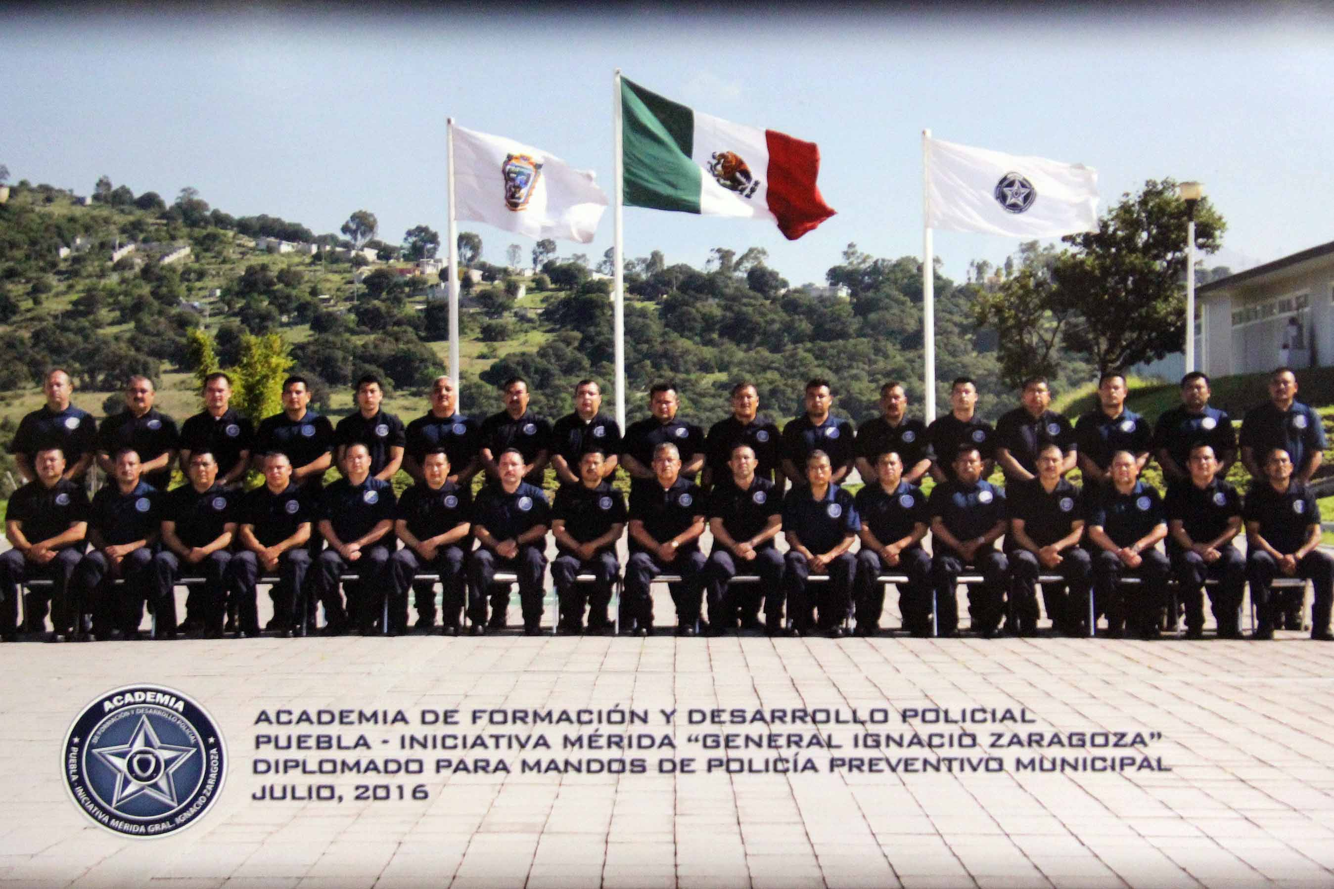 Participa Calpulalpan en capacitación policiaca a nivel nacional