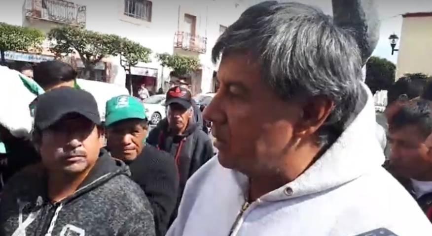 Busca fiscal saliente, quedarse ganancias de Reyes y Feria Zacatelco