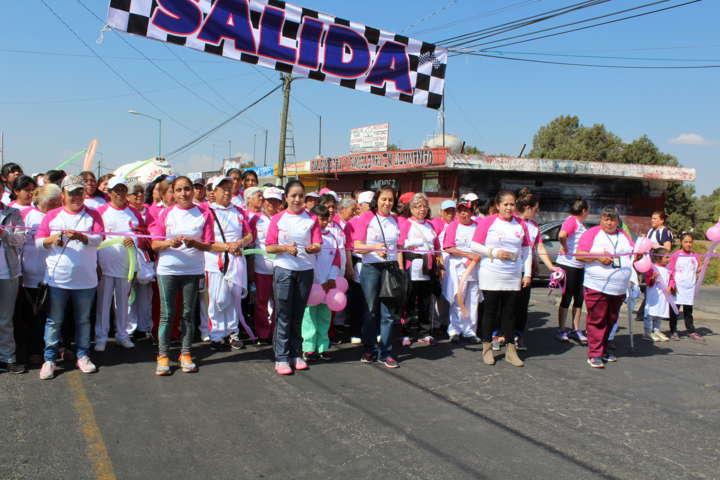 Realiza SMDIF de Tetla caminata y evento del Día Internacional de la Mujer