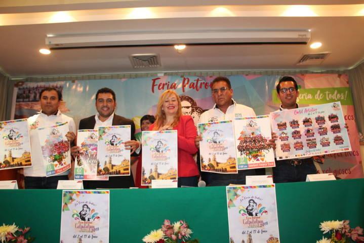 Del 2 al 17 de junio llega La Feria de Todos Calpulalpan 2018: alcalde