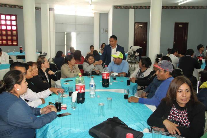 Alcalde reconoce la labor de los Maestros en la formación de profesionistas