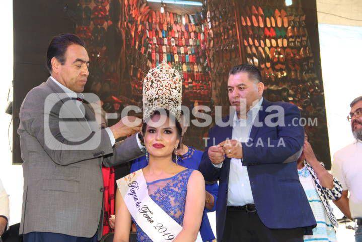 """Arranco la Feria Apetatitlan 2019 con la coronación de """"Jennifer I"""""""