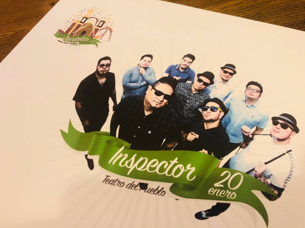 "Llega ""Inspector"" a abrir La Gran Feria Zacatelco 2019"