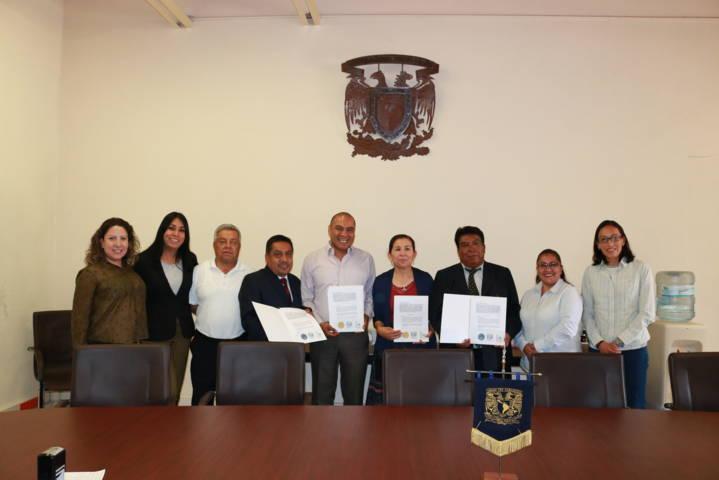Firma de Convenio de Colaboración entre Chiautempan y la UNAM Campus Tlaxcala