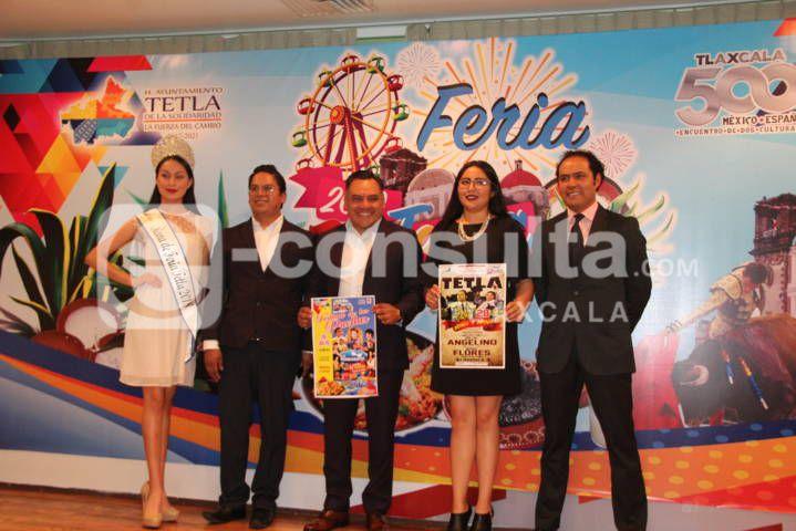 Alcalde alista la Feria Tetla 2019 del 24 al 28 de julio