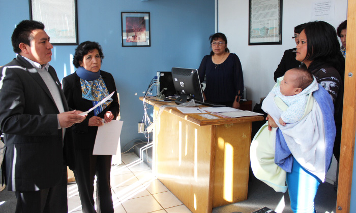 Se expide en Huamantla la primera Acta de Nacimiento gratuita