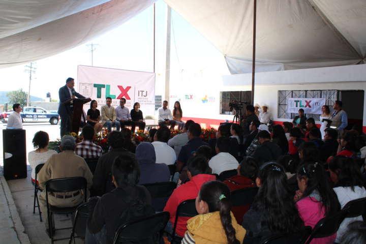 Se inaugura el Centro de Desarrollo Juvenil en Capulac, Tetla de la Solidaridad