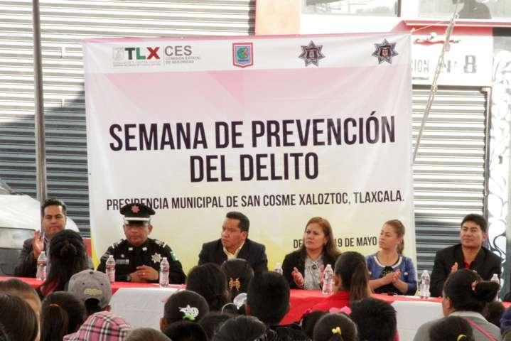 """Clausura Policía Estatal """"5ta Semana de Prevención del Delito"""""""