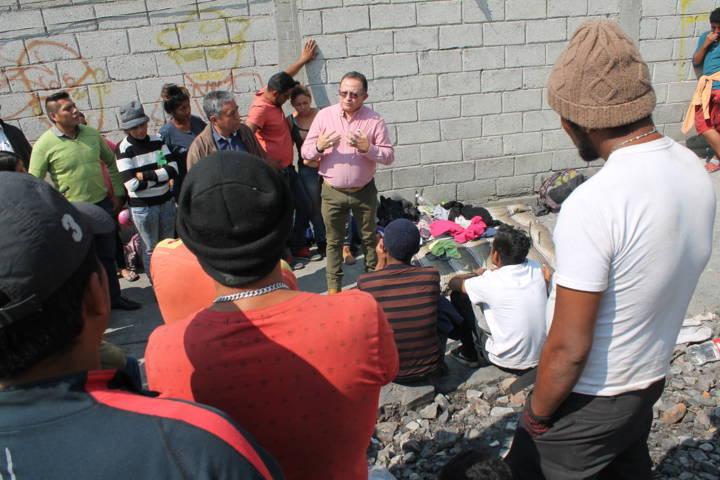 La CEDH garantiza a los migrantes, respeto a sus derechos humanos: VMCPP