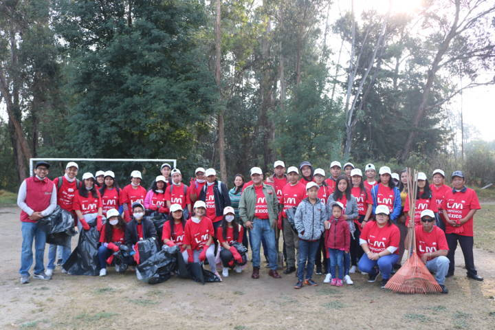 Participa Chiautempan en la campaña Limpiemos Nuestro Mexico