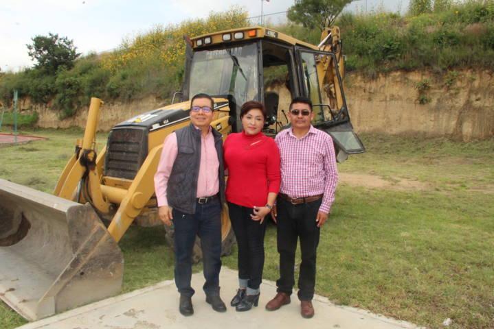 Alcalde mejora la infraestructura deportiva con un nuevo gimnasio al aire libre