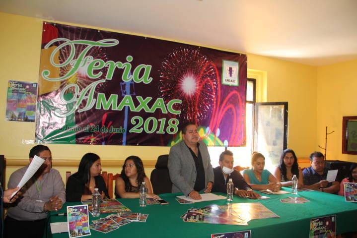 Autoridades municipales de Amaxac alista feria patronal del 8 al 24 de junio