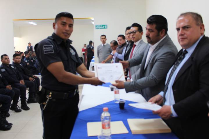 Gobierno de Lardizábal y UAT coordinan capacitación para elementos de seguridad