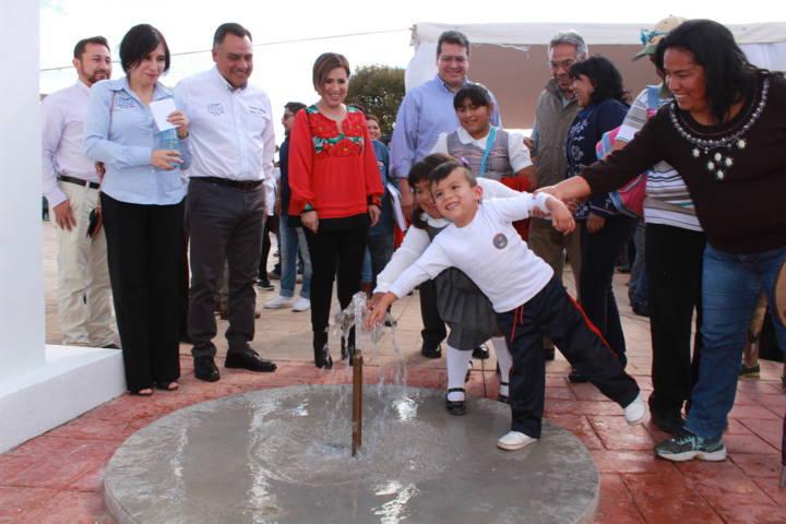 Inaugura Alcalde de Tetla Parque en Atexcatzinco