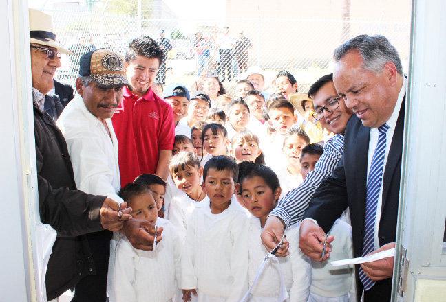 Inauguran un módulo educativo más de CONAFE en  comunidad de Huamantla