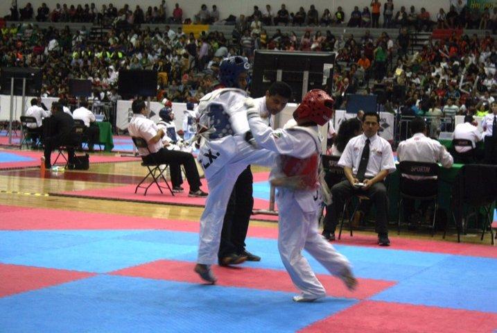 Tlaxcala participa en el taekwondo de Olimpiada Nacional