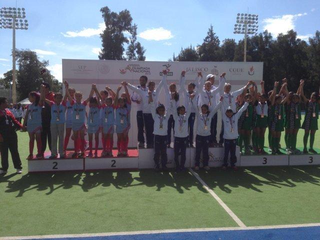 Plata y bronce para Tlaxcala en el Hockey de la Olimpiada