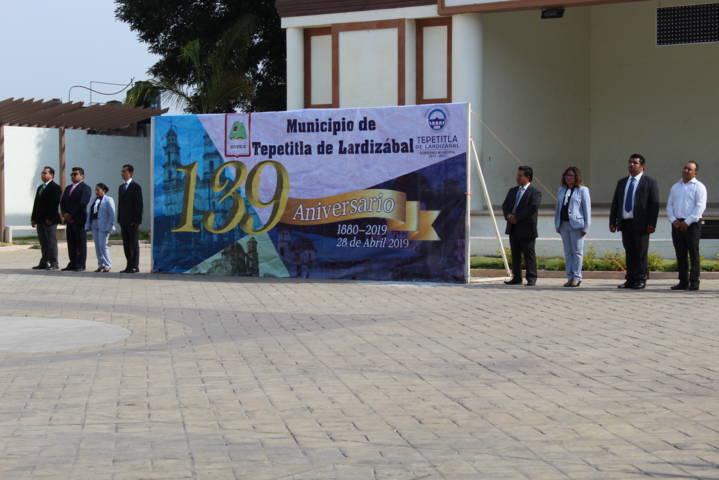 Gobierno de Lardizábal conmemora el 139 Aniversario del Municipio