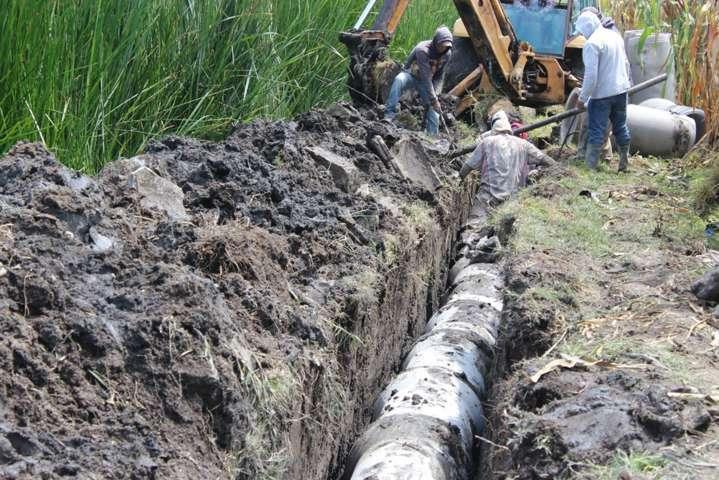 """Arrancan trabajos de rehabilitación en red de drenaje en """"el lado"""""""