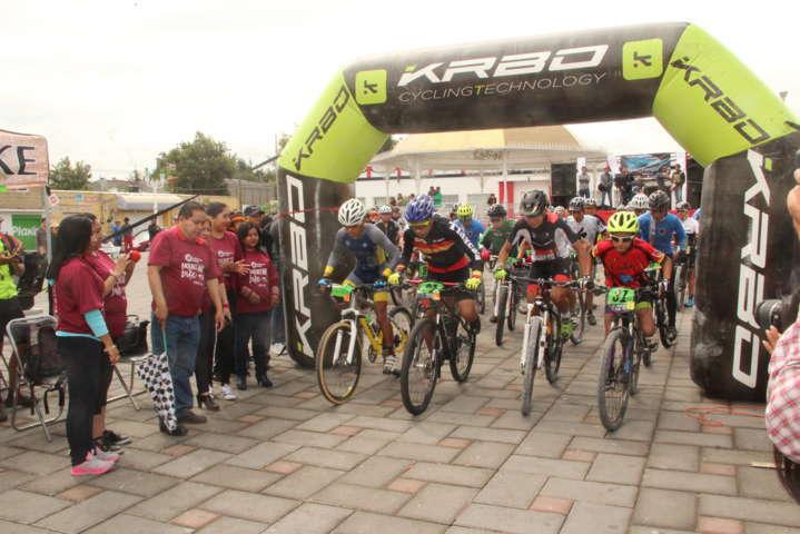 1er carrera ciclista de montaña Amaxac 2017, fue un éxito: alcalde