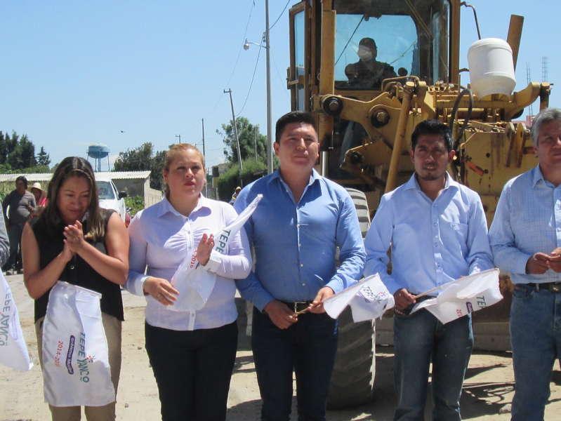 Más obras del Ayuntamiento para Xalcaltzinco