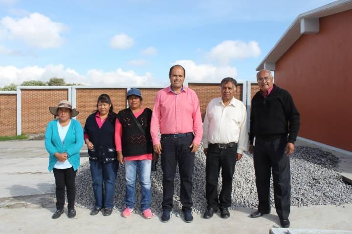 Concluirán barda perimetral en escuela bilingüe de Santa Cruz Tlaxcala
