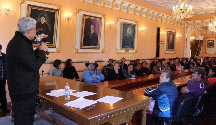 Imparten en Huamantla asesoría para los proyectos del Instituto Nacional de la Economía Social