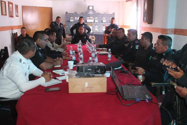 Ayuntamiento fue sede de la reunión regional municipal de seguridad pública