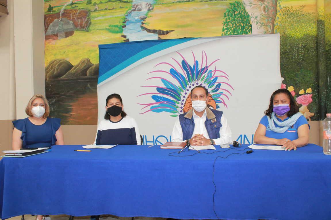 Anuncian llegada de vacuna contra Covid-19 a Yauhquemehcan