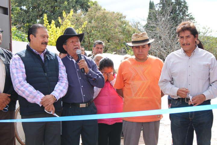 Presidente municipal de Zacatelco inaugura Centro de Desarrollo Comunitario