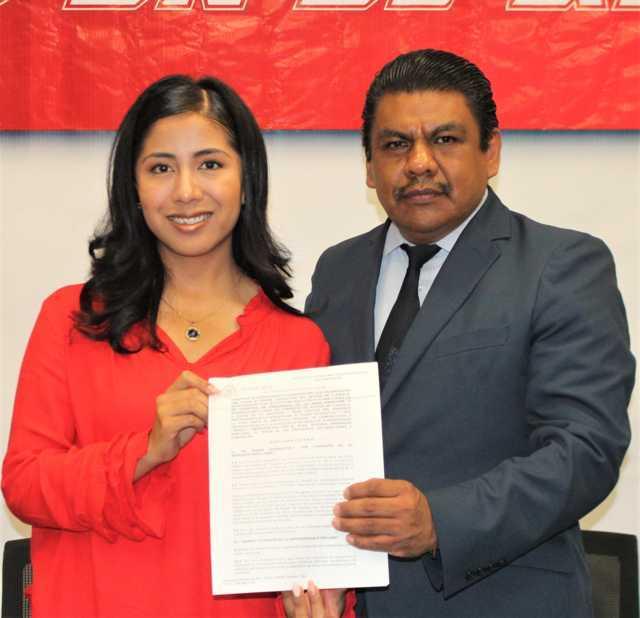 Firman convenio de colaboración el INPECC con el Congreso de Tlaxcala